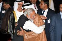 India PM Narendra Modi breaks protocol to welcome 'special friend' Prince of Abu Dhabi