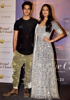 Ishaan-Malavika launch Beyond The Clouds
