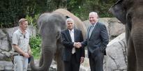Sri Lanka Prime PM's zoo visit amid elephant stoush