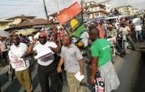Okah accepts to lead the surrender of Biafran flag to Nigeria