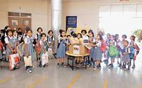 New Bal Vikas Mandir students donate for Mega Charity Drive