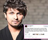 Angry Sonu Nigam bids adieu to Twitter