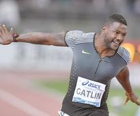 Gatlin digs deep, Ayana misses world record in Rome