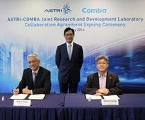 ASTRI and Comba Telecom Limited Jointly Establish Research and Development Laboratory