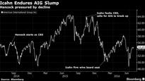 Hancock at Risk as AIG CEO With Profit Squeeze Pressuring Shares