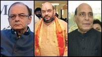 Rajnath Singh, Amit Shah, Arun Jaitley discuss Kashmir turmoil