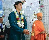 Justin Trudeau goes desi: Canadian PM performs puja, promotes diversity in Toronto Hindu temple