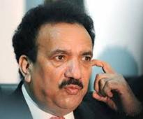 Rehman Malik condemns Indian brutalities in IOK