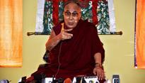 Railway Minister Suresh Prabhu meets Dalai Lama at Leh