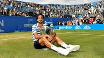 Aegon Championships: Feliciano Lopez beats Marin Cilic in nail-biting Queen's Club final