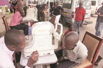 100 kombi drivers undergo eye tests