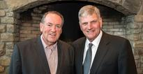 Franklin Graham praises Mike Huckabee as a 'man of integrity' as GOP bet quits race
