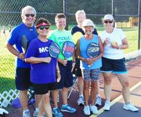 Pickleball beats the heat as fast-growing racquet sport