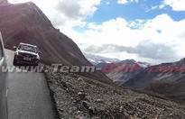 Tata Hexa spied on Manali-Leh highway