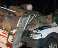'Chhattisgarh home minister's vehicle had no safety features'