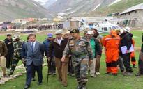 Governor Vohra reviews this year's Yatra arrangements at Sheshnag, Panjtarni, Baltal