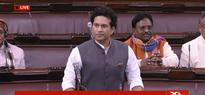 Sachin Tendulkar, unheard in Parliament, delivers maiden speech on Facebook