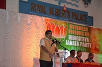 Visiting Minister Nitin Gadkari Feted By OFBJP In New Jersey