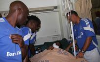 Ndaba begins road to recovery