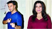 Ranveer Singh and Zoya Akhtar in a show on BFFs