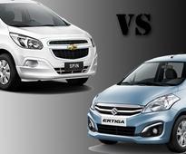 Will Chevrolet Spin The Sales Against Maruti Ertiga?