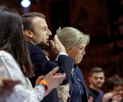 Macron's wife's to take a Michelle Obama style role in France