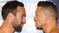 Danny Green beats Kane Watts at Melbourne's Hisense Arena