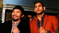 Philippine boxing legend Manny Pacquiao all set for a showdown with Amir Khan