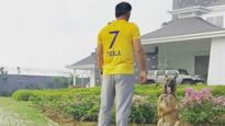 SEE PIC: MS Dhoni sends out a message as Chennai Super Kings get set for IPL return