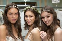 The Waterfall Flower Crown Hair How-To Every Bride Wants