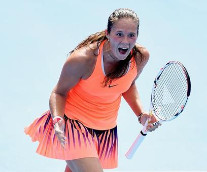 PHOTOS: Russian teenager ousts World No 1 Kerber; Sharapova to make Stuttgart return