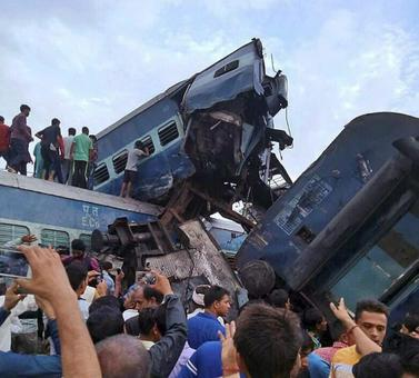 UP train crash: 156 injured, many in critical condition, says official