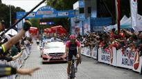 Poland's Niemiec wins 1st stage of Turkey Cycling Tour