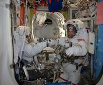 NASA astronauts complete power upgrade spacewalk
