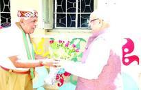 Lalji Tandon meets Minister Gaur