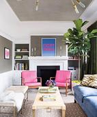 Transform a Traditional Space with a Modern Pop of Color