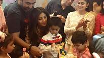Bollywood stars sparkle at Shilpa Shetty son's birthday