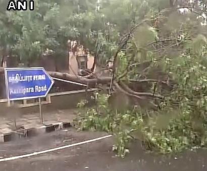Cyclone Vardah makes landfall