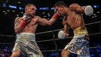 Carl Frampton and Leo Santa Cruz prepare to d...