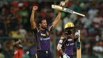 Yusuf, Russell power Knight Riders to scorching win