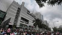Bangladesh: Fire breaks out in mall fourth time, 12 trapped
