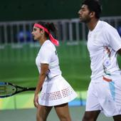 Sania-Bopanna go down in mixed doubles semis