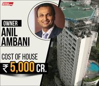 Mukesh Ambani's Mega-House Worth Rs 12,000 Crore Stands Tall; Here's Its Comparison With Most Expensive Houses In India In 2017