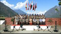 Nirmala Sitharaman visits army posts in Arunachal Pradesh, China objects