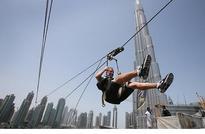 In air travel hub of Dubai, zip...