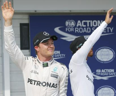Hungarian Grand Prix: Rosberg snatches pole from Hamilton