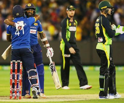 Sri Lanka clinch Melbourne thriller to welcome back Malinga