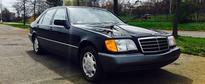eBay Find: Two Mercedes-Benz W140 S-Class with Delivery Mileage Pop Up for Sale