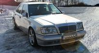 Carbon Motors Leaves Its Print On The Classic Mercedes E500 W124