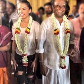 Rajinikanth and Amy Jackson wrap up the shoot for Shankar's 2.0